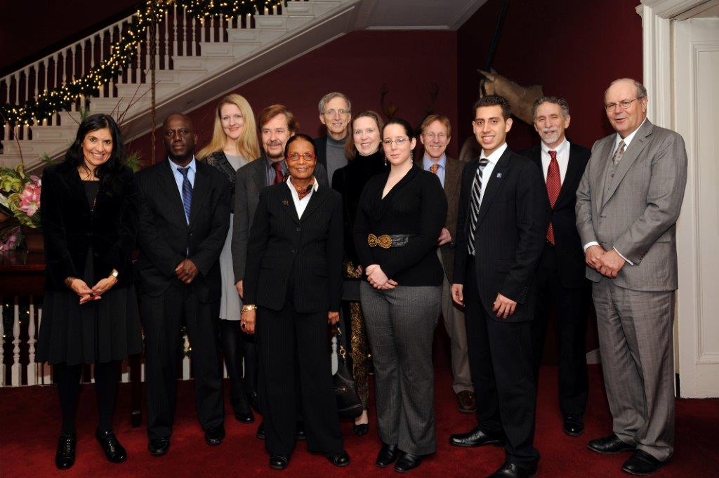 Pathways Common Core Steering Committee at December 16, 2011 Harvard Club thank you dinner